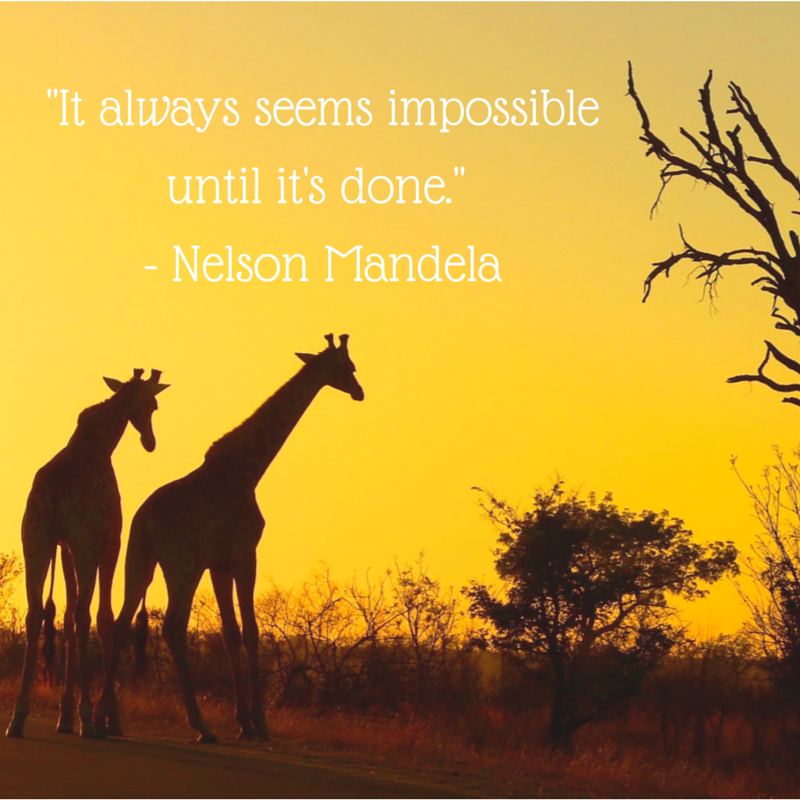 Nelson Mandela quote, Love Africa South african airlines