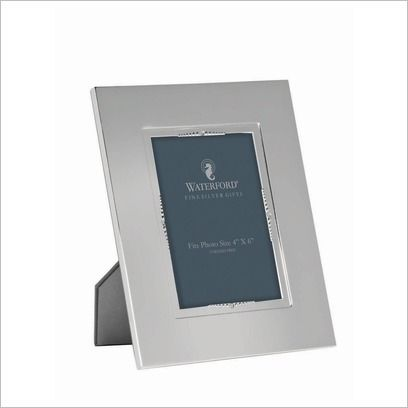 Crystal Lismore Bead 10x15cm Frame Waterford