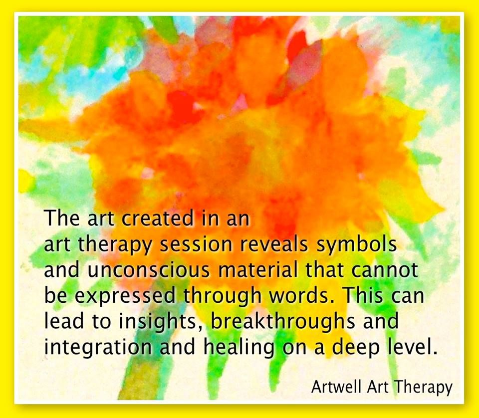 What is art therapy? Meme to describe this. http