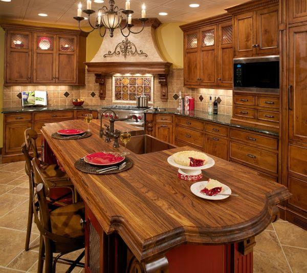 Tolle Ideen für toskanische Küchen Designs - http://wohnideenn.de/kuche/12/toskanische-kuchen-designs.html #Küche