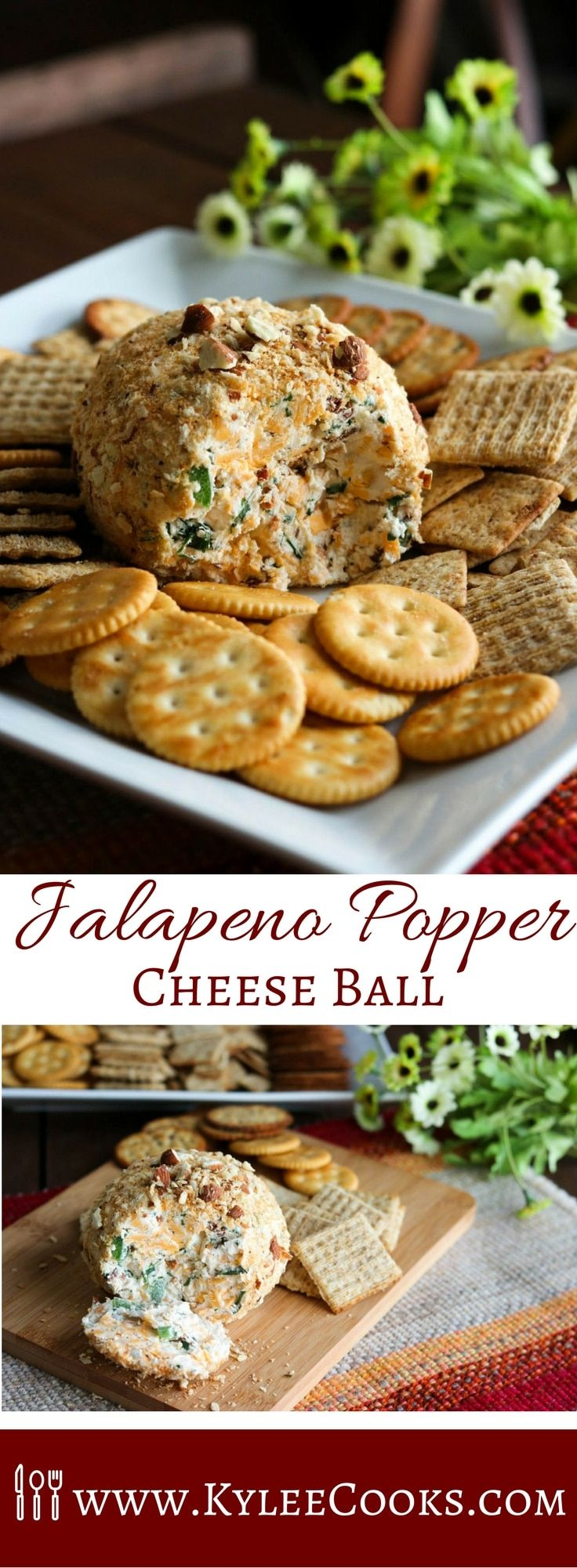 Jalapeno Popper Cheese Ball Recipe (with Video)