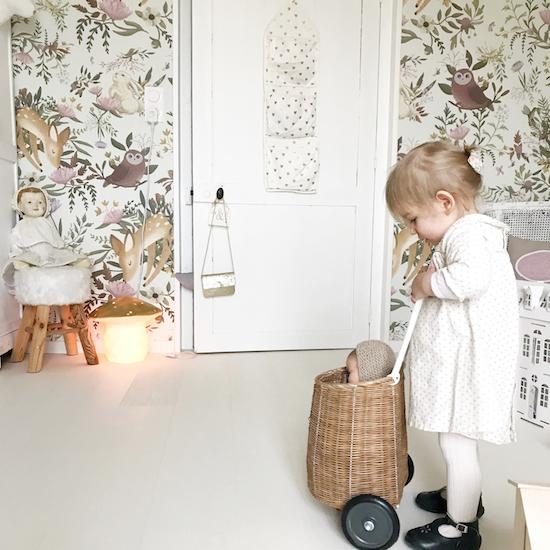 Papier Peint Foret Enfant Chambre Enfant Decoration Chambre Fille