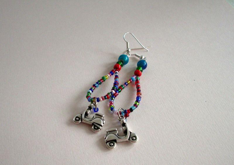 Chandeliers - Ohrhänger Roller - ein Designerstück von sibea bei DaWanda