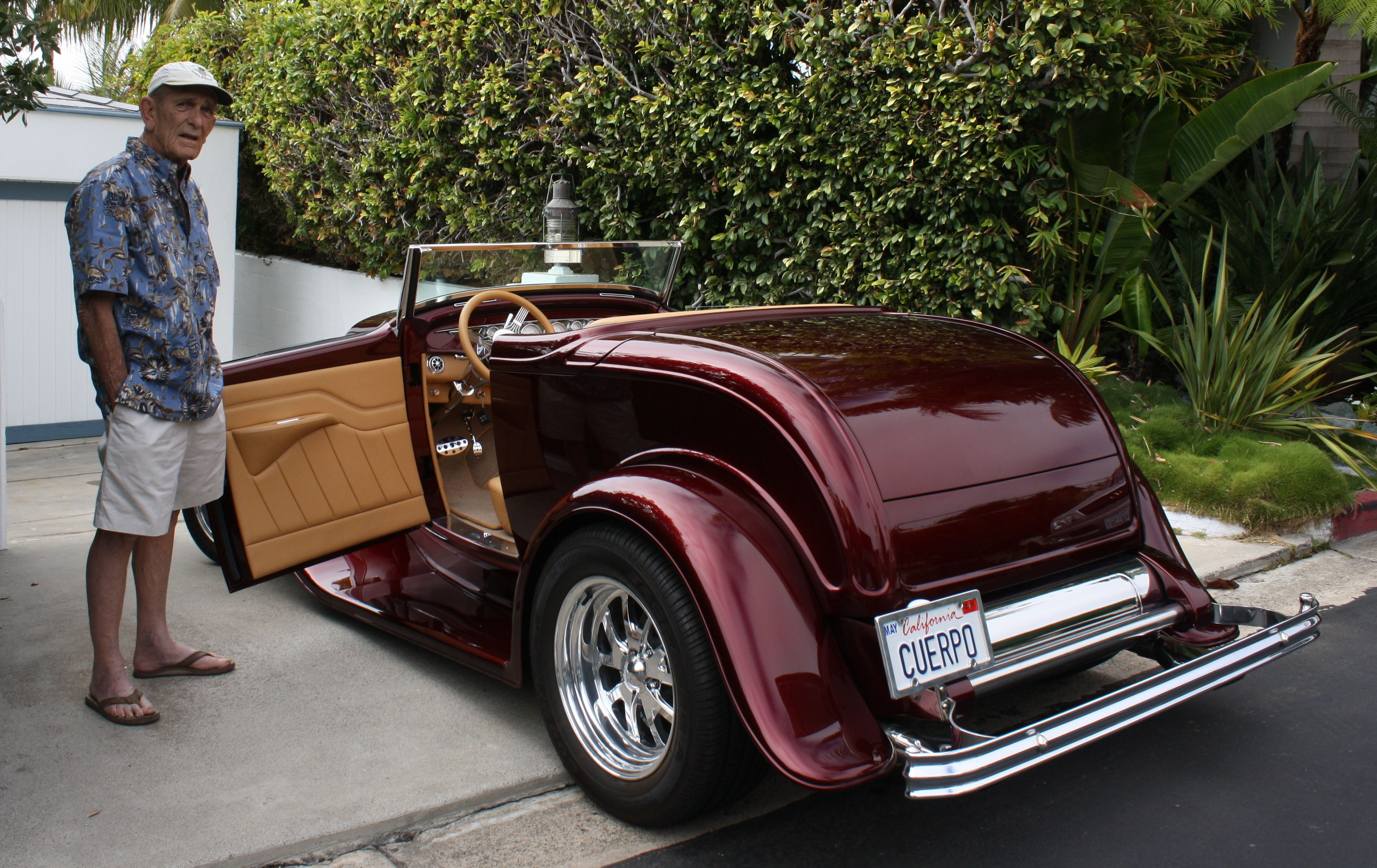 Cognac and hot rods one of a kind 1932 ford cabriolet deuce