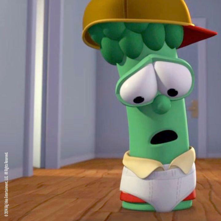 Veggietales Junior In Underpants Eat Your Veggies