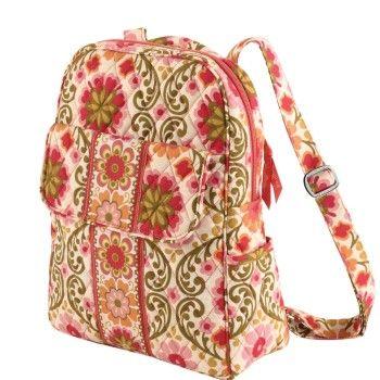 $88 Vera Bradley Backpack in Folkloric image