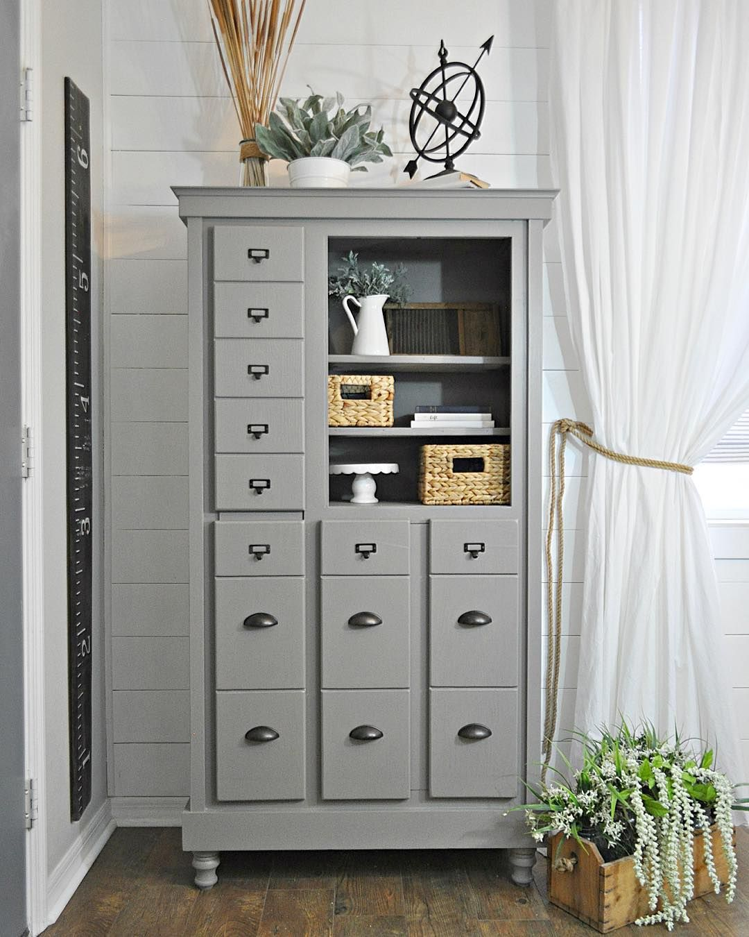 Sherwin williams dovetail the color i 39 ve chosen for for Grey cabinet paint
