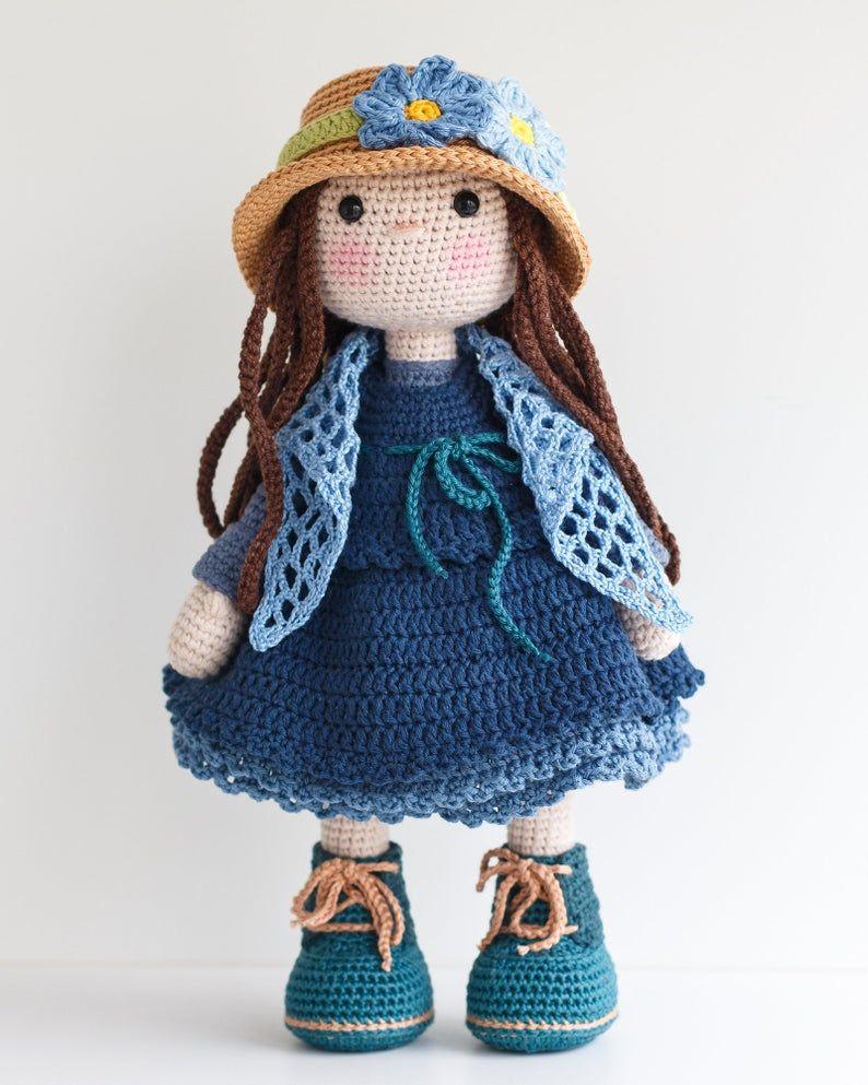 bambole schema gratis amigurumi crochet tutorial uncinetto | 993x794