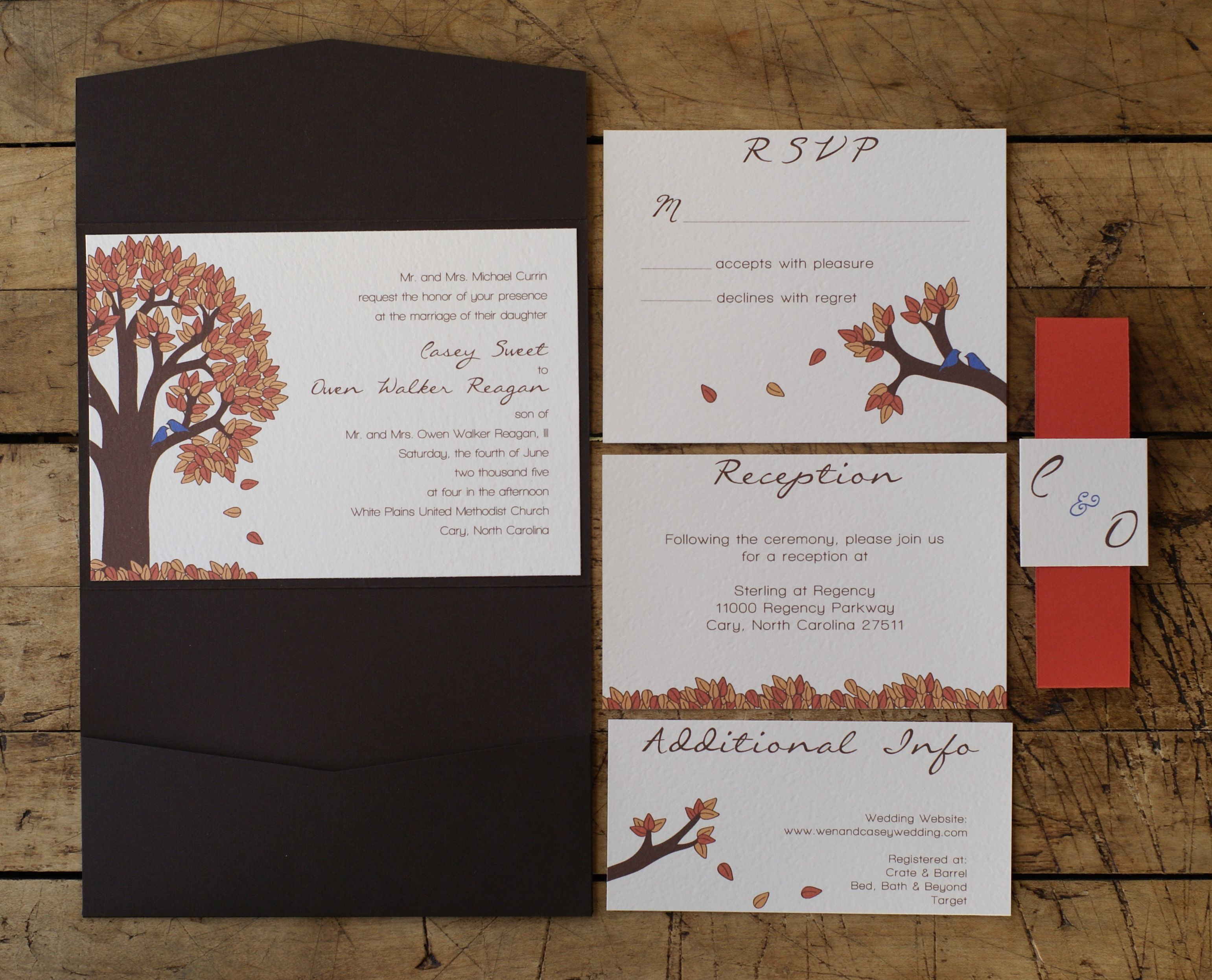 Wedding Invitations from Casey | Wedding Ideas | Pinterest | Wedding ...