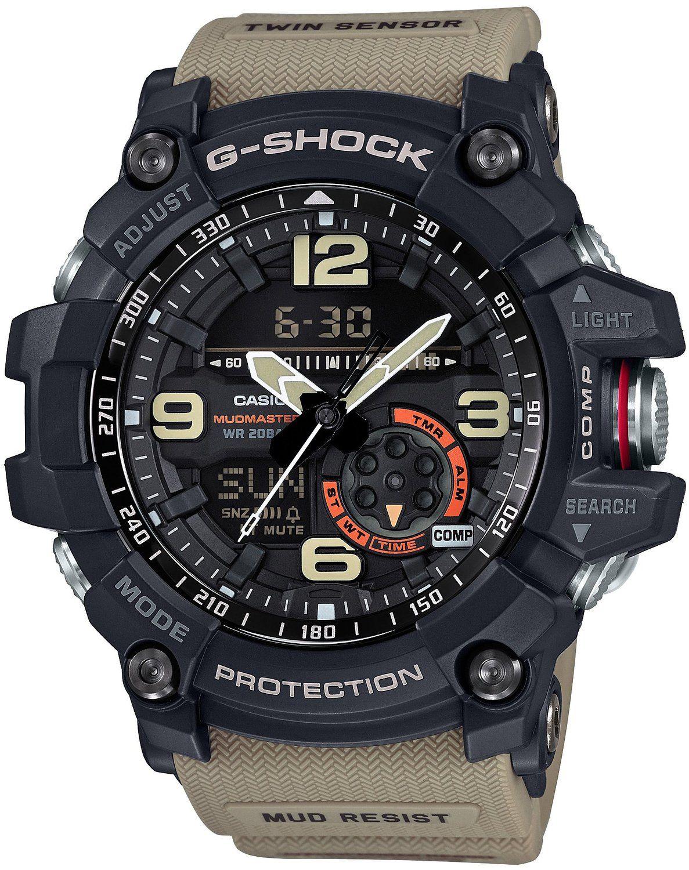 0e602515c73ae Amazon.com  CASIO G-SHOCK MASTER OF G MUDMASTER GG-1000-1A5JF MENS JAPAN  IMPORT  Clothing