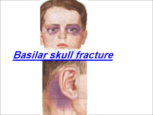 Basilar Skull Fracture: Racoon eyes and Battle's signs | Nursing ...