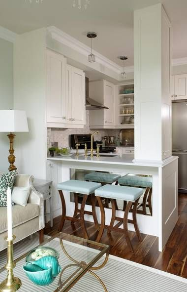 How To Make A Small Space Stylish Condo Kitchen Decorating