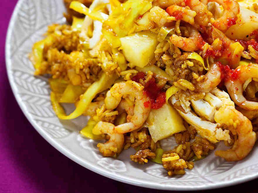 Nasi goreng - Reseptit