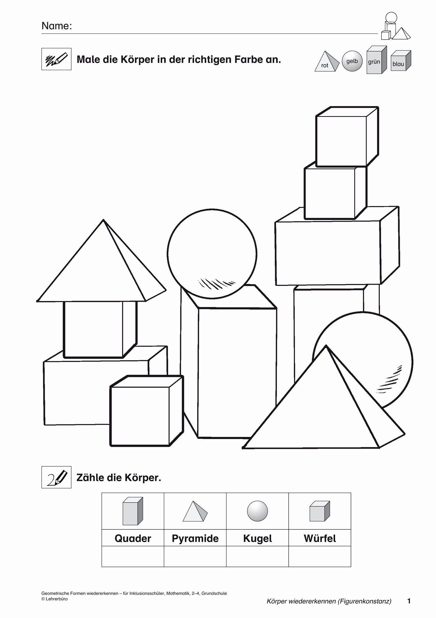 Einzigartig Malvorlagen Geometrische Formen Math Board Games Learning Math Math