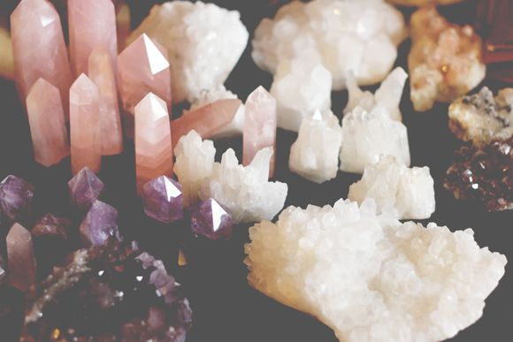 how to clean druzy crystal