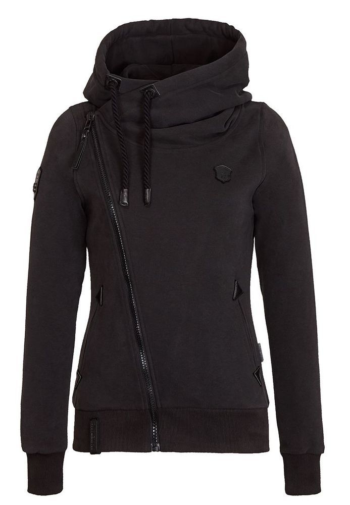 Naketano Kapuzenjacke Black Family Biz Sweatjacke Winter