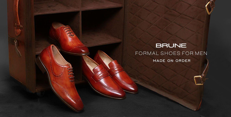 Buy Brune Formal Shoes for Men Made on Order