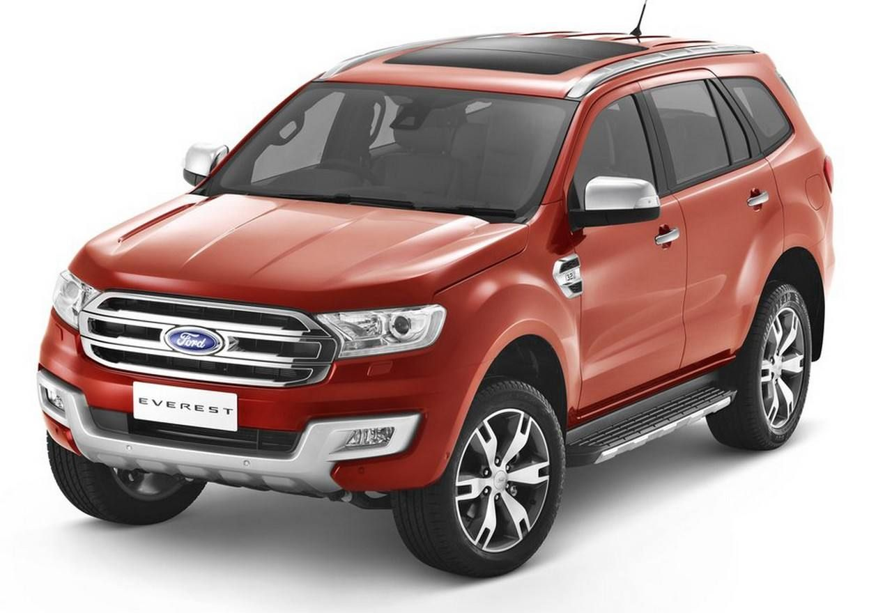 2018 Ford Everest Concept, Specs, Review, Redesign
