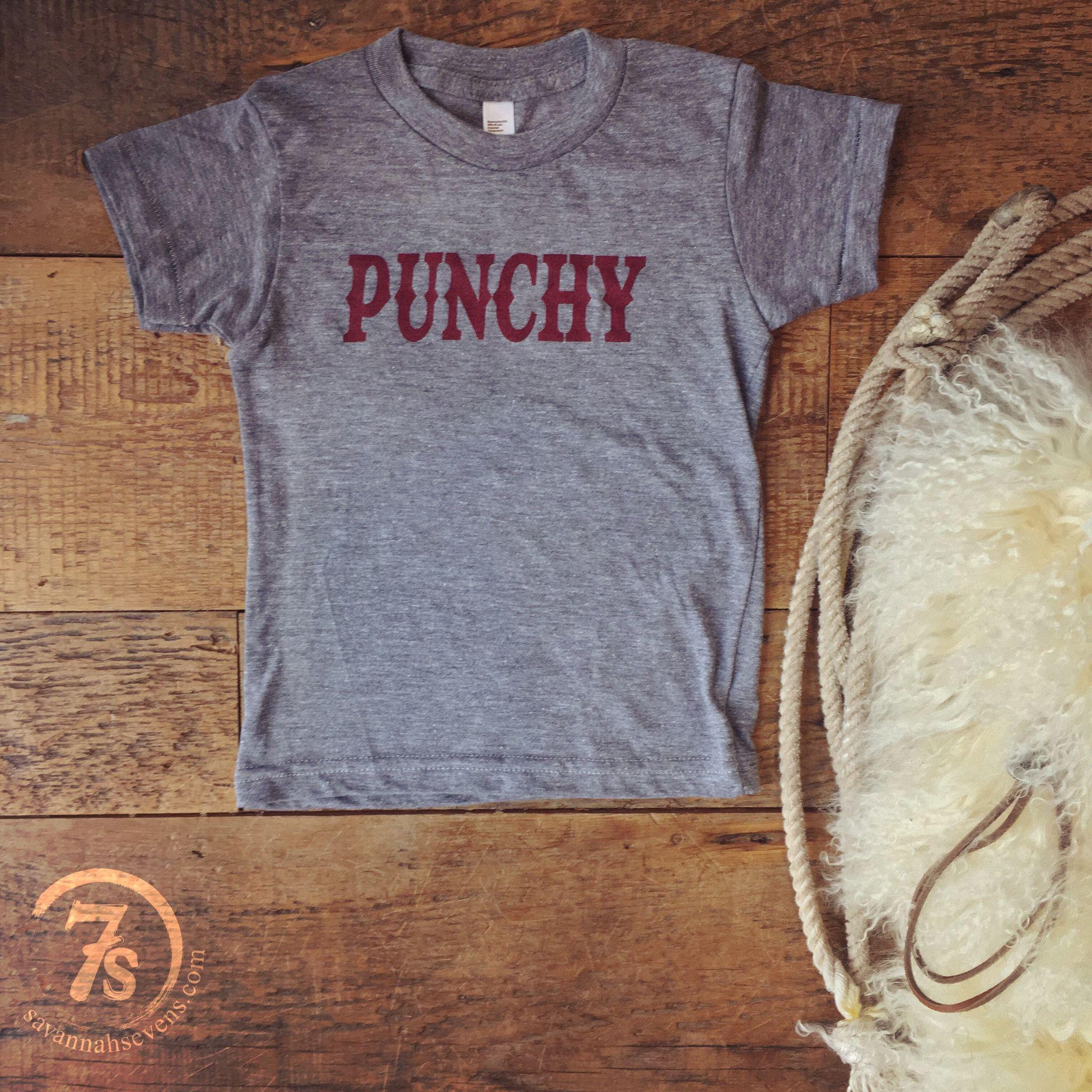 Punchy cowboy hat t shirt