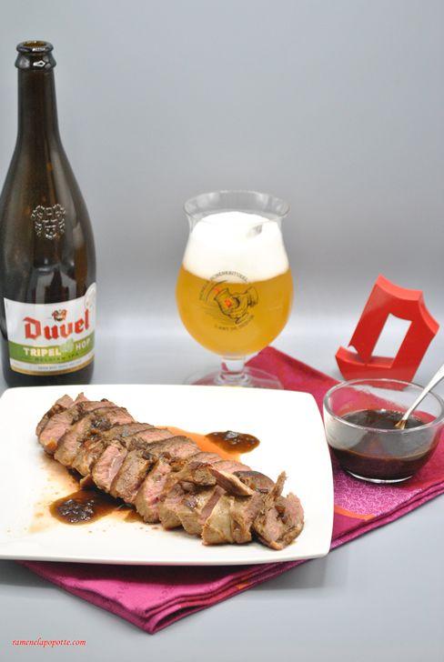Filet de canard sauce balsamique et orange ram ne la - Cuisiner un filet de canard ...