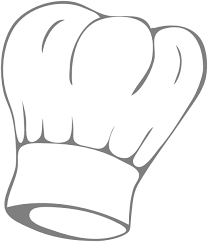 Image Result For Chef S Hat Outline Chefs Hat Clip Art Clipart Black And White