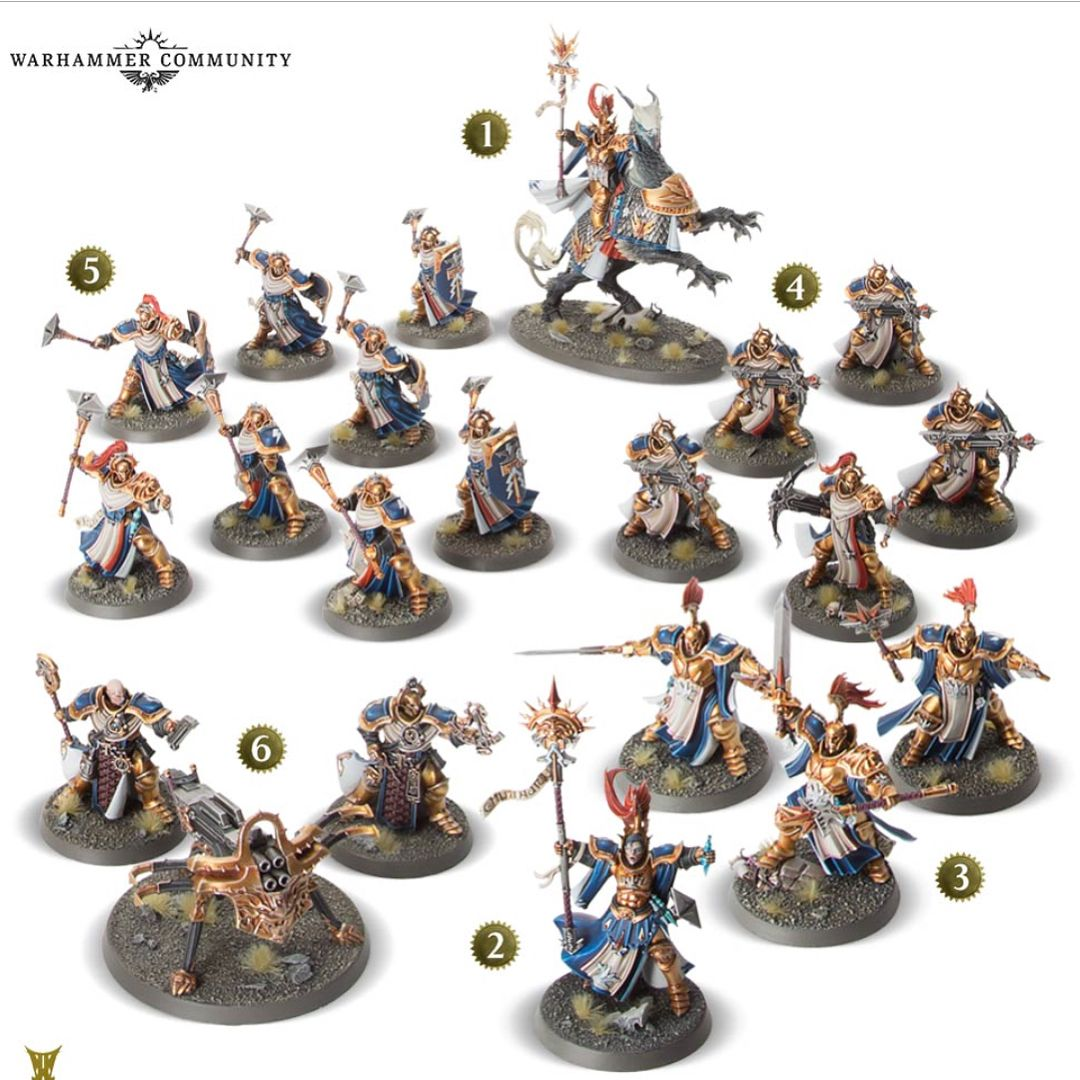 18+ Stormcast chambers ideas