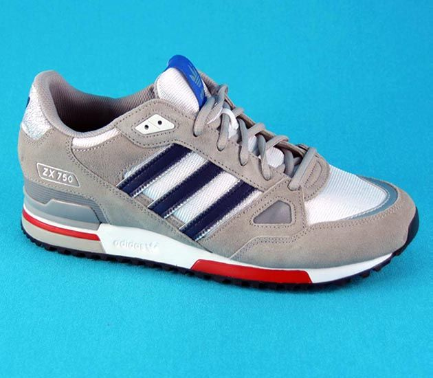 Adidas Originals Zx 750 Chrome Running White St Dark Slate Adidas Adidas Originals Adidas Sneakers