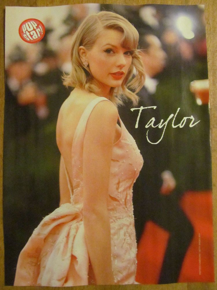Taylor Swift, Demi Lovato, Double Full Page Pinup