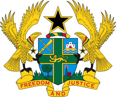 The Coat Of Arms Of Ghana Was Designed By Ghanaian Artist Amon Kotei And Was Introduced On 4 March 1957 Coat Of Arms Ghana Ghana Flag