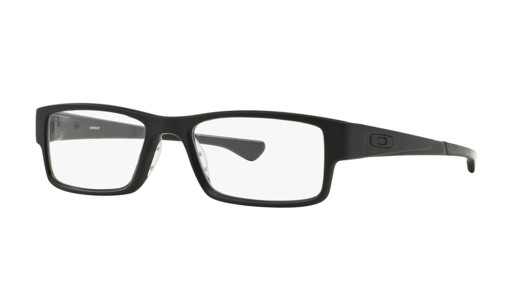 ad5db6b398 Buy Oakley sunglasses for Mens Airdrop™ with SATIN BLACK frame and CLEAR  lenses. Discover more on Oakley US Store Online.