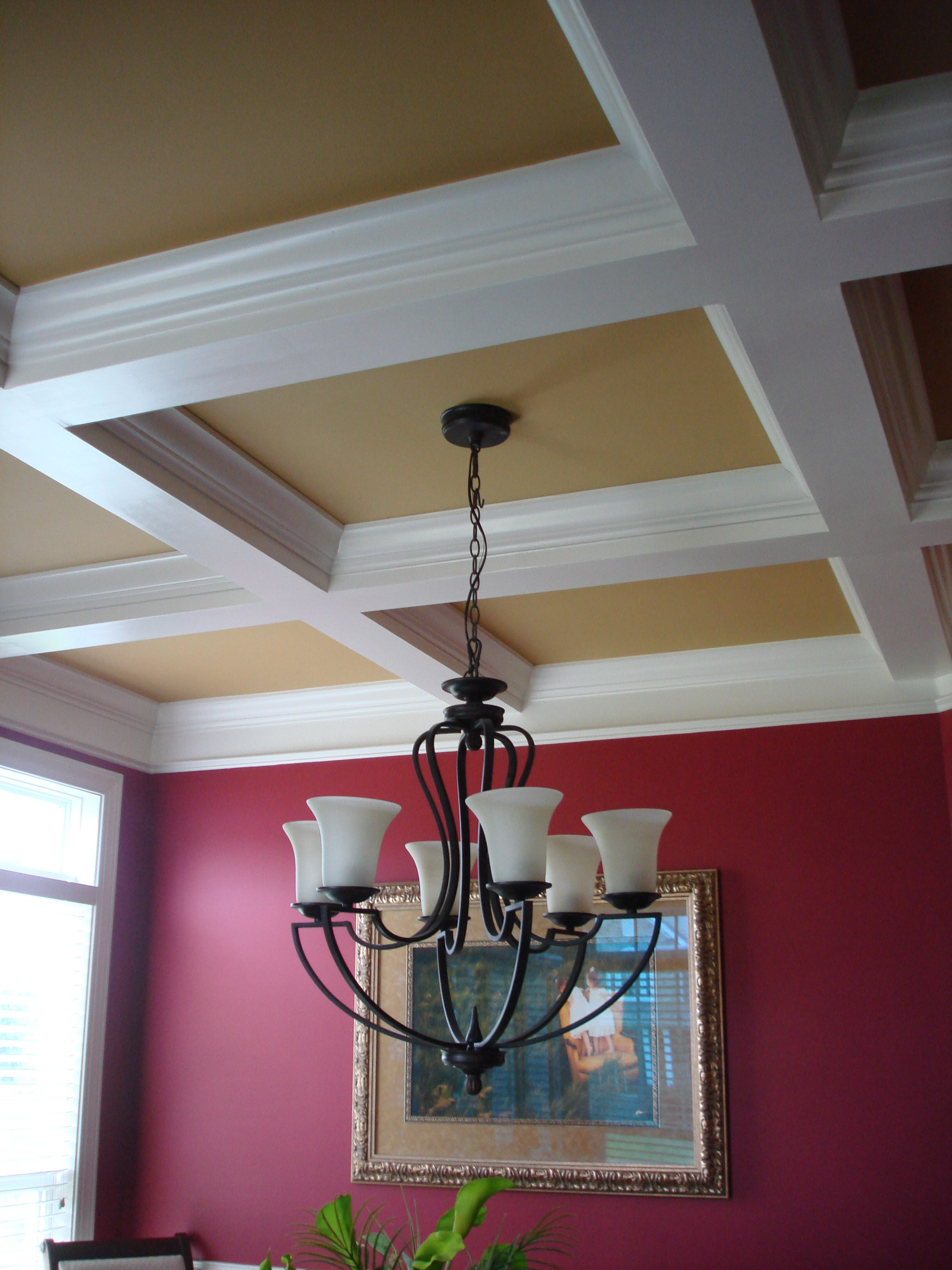 I Fell In Love With The Coffered Ceilings It Reminded