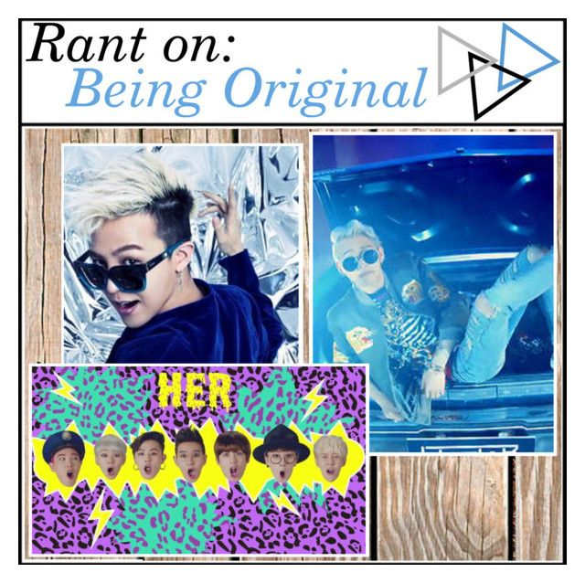 """Rant: ""Copying"" & Being Original"" by color-the-sky ❤ liked on Polyvore featuring art and colorstips"