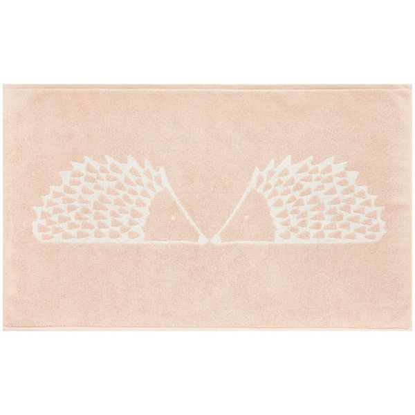 scion spike bath mat blush 36 liked on polyvore featuring