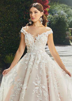 2406 Evelina Ball Gown Wedding Dress by Casablanca