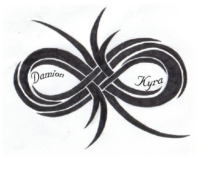 double infinity symbol | Tattoo Ideas... - Powerful ...