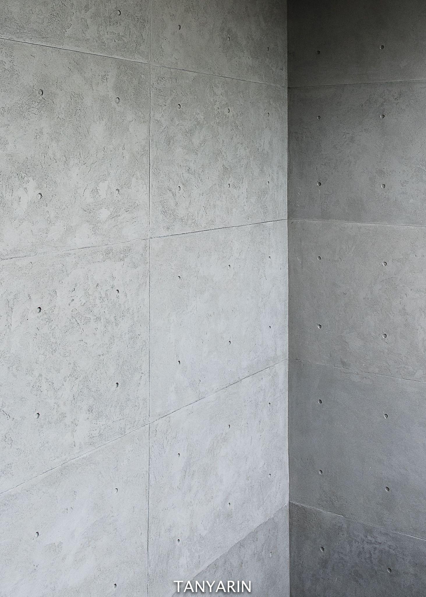 Tanyarin Created Armourcoat Koncrete Concrete Plaster On Wall As Similar As Tadao Ando Concrete Nel 2020