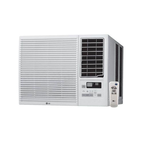 Lg 7 500 Btu Heat Cool Window Air Conditioner 350 Sq Ft Window Air Conditioner Small Window Air Conditioner Remote