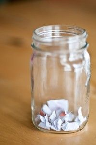 "How to remedy ""I'm Bored"" , get a jar and fill with pieces of paper that have chores, treats and idea written on them. The kid/s pick a piece of paper and do what it says. That might be ""take out the garbage"" or ""eat a cookie"" or do ""15 jumping jacks"", it's always a surprise"