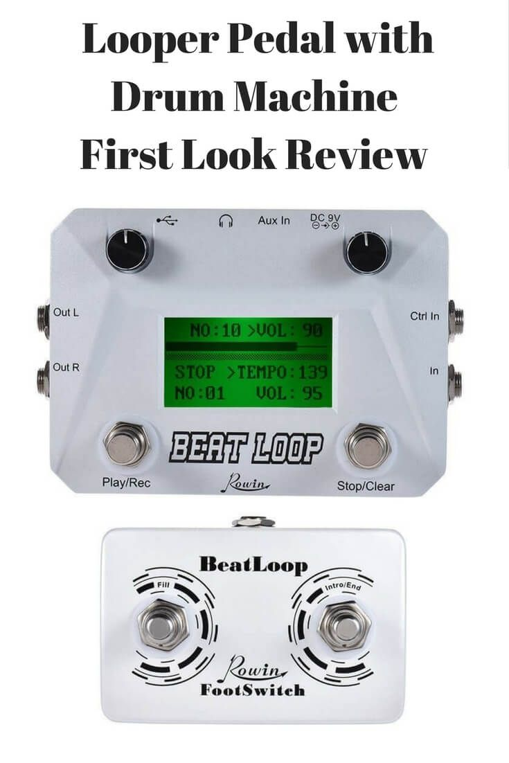 rowin beat loop looper pedal with drum machine first look review guitar stuff drum machine. Black Bedroom Furniture Sets. Home Design Ideas