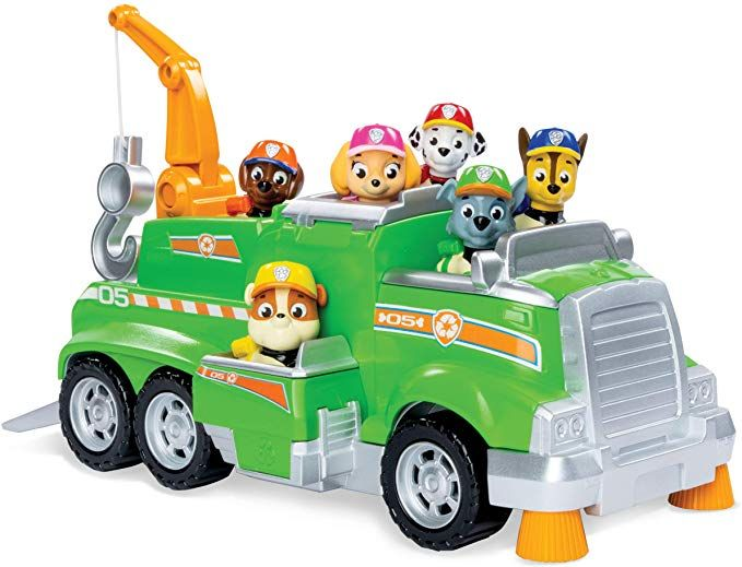Paw Patrol, Rocky's Total Team Rescue Recycling Truck with 6 Pups - Paw patrol toys, Paw patrol rocky, Paw patrol, Paw patrol pups, Paw patrol vehicles, Ryder paw patrol - Find today's best bargains and moneysaving offers, discounts, promo codes, freebies and price mistakes, vetted by our team of experts