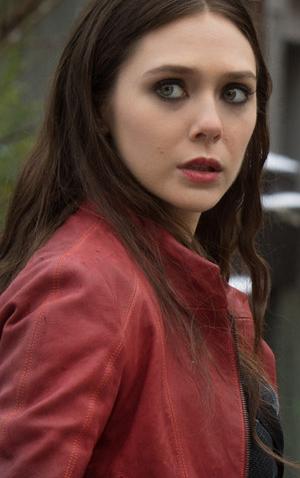 Avengers Age Of Ultron Elizabeth Olsen Red Jacket Elizabeth Olsen Scarlet Witch Cosplay Elizabeth Olsen Scarlet Witch