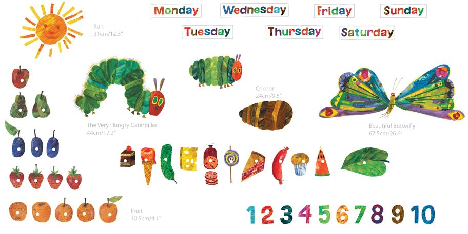 Anna's Resources for Young Learners: Books | thema the very hungry ...