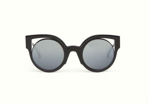 Optyl Fendi Frame In Eye Paradeyes Cat Black With Sunglasses xxFOR1