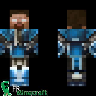 Aperçu De La Skin Minecraft Herobrine Version Roi Plaid - Skins para minecraft pe de kirito