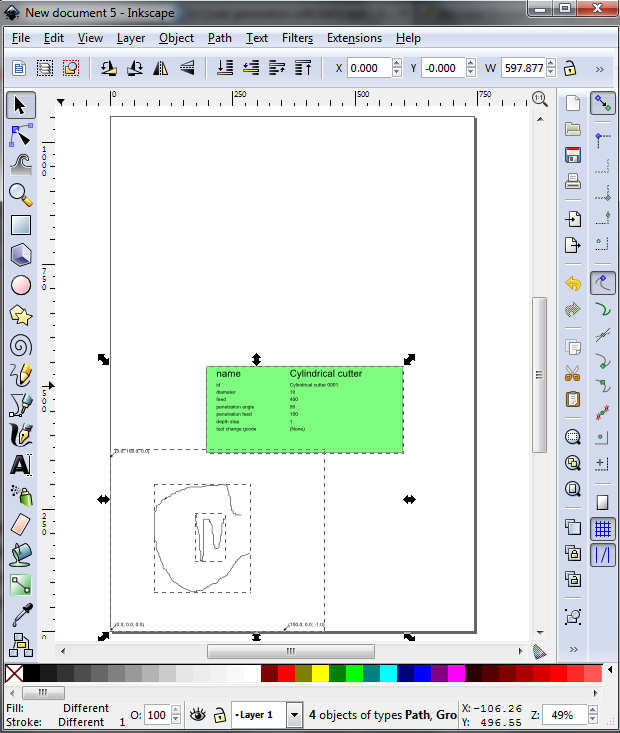 Generating a engraving g code using inkscape step by step tutorial generating a engraving g code using inkscape step by step tutorial amazing new ccuart Image collections