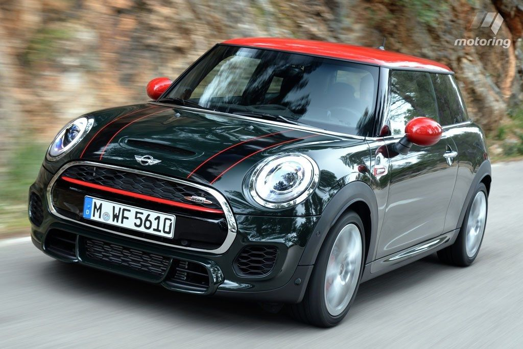 2016 Mini JCW Had A Works Cooper S As Second Car In