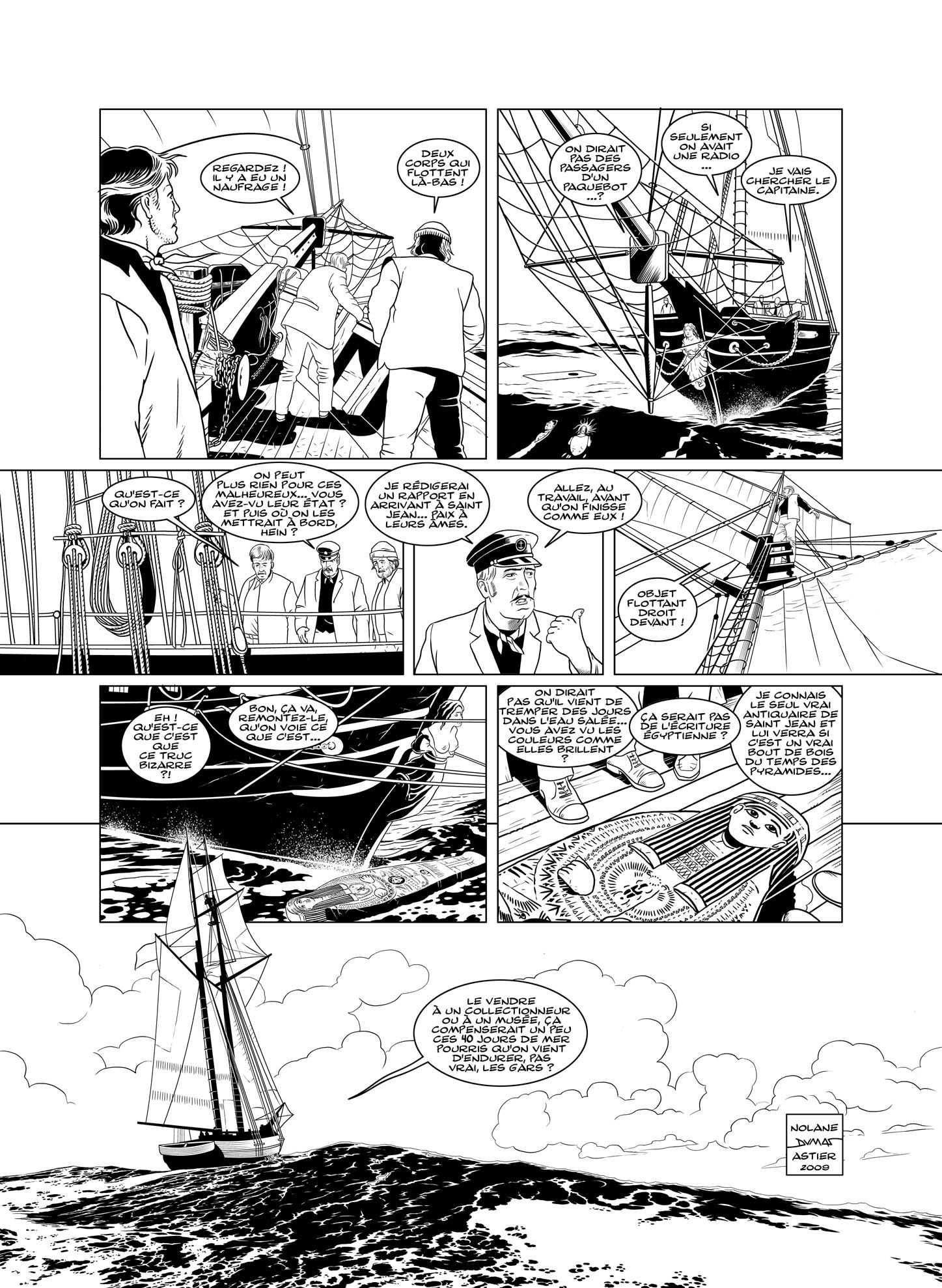 titanic scnario richard d nolane dessin patrick a dumas - Dessin Titanic