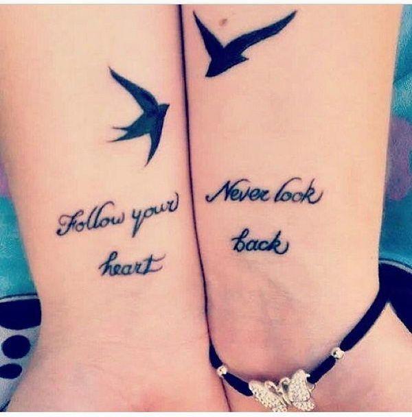 Creative Best Friend Tattoos for True Friends | Friend tattoos ...