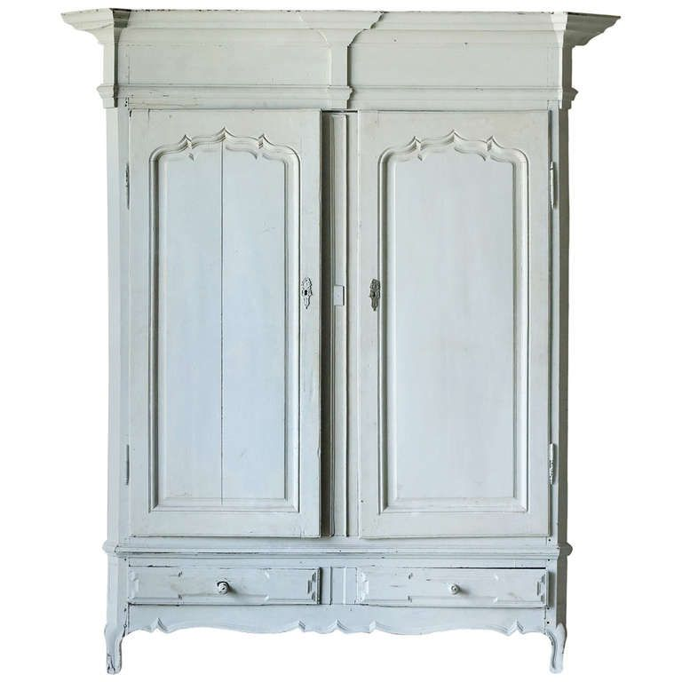 Antique Painted, Flemish Armoire. Antique ArmoireModern WardrobeHappy ...