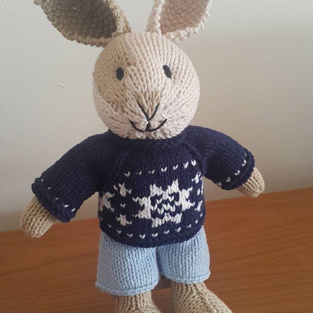 littlecottonrabbits #juliewilliams #Nordic #sweater #bunny boy ...